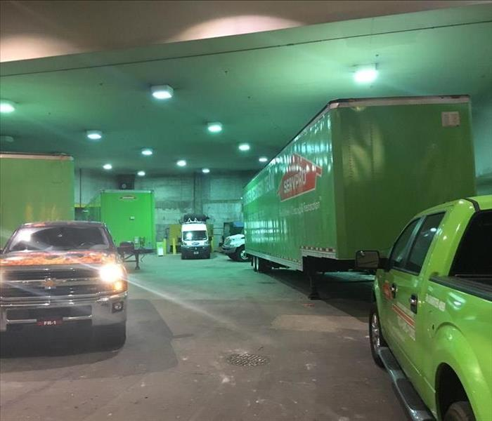 Commercial Large Loss Division of SERVPRO