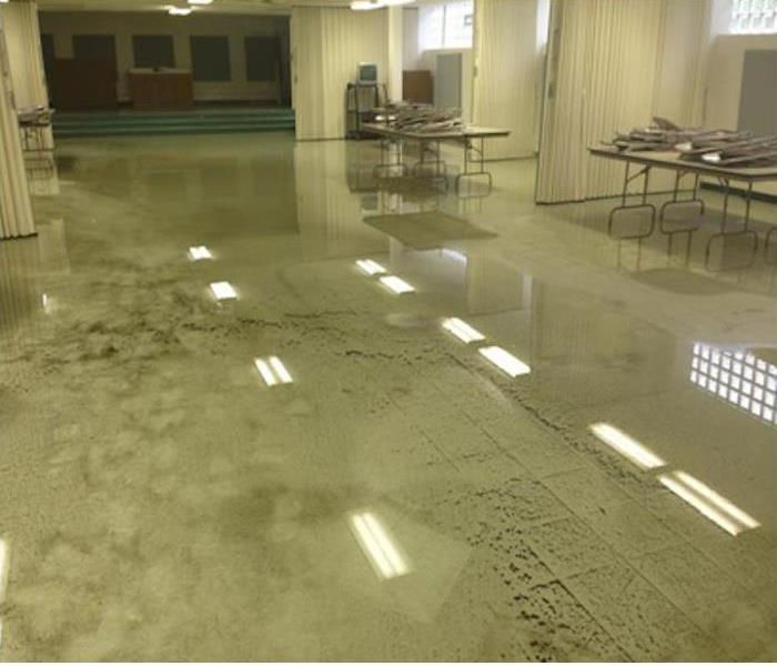 Harrison School Cafeteria Gets Inundated
